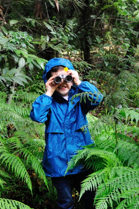 Kids Unisex STOWaway rain jacket
