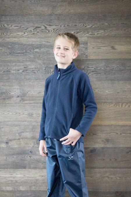 Kids Heka Navy Fleece