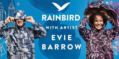 Rainbic collaborate with Melbourne artist Evie Barrow
