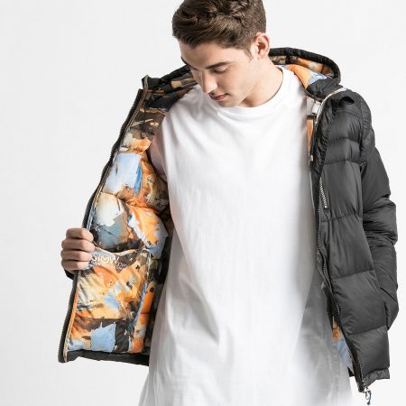 Silk Roy Artist collaboration parka