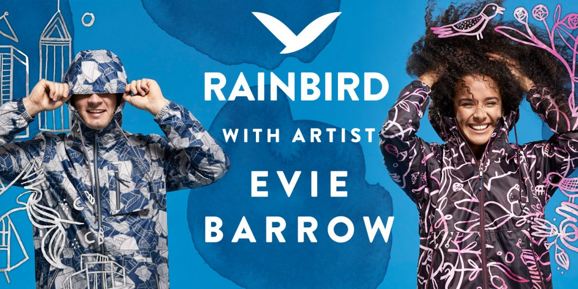 Rainbic collaborate with Melbourne artist Evie Barrow