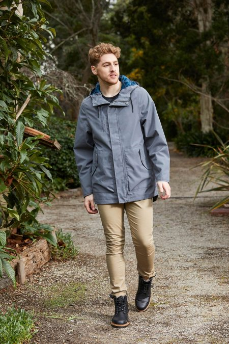 MENS ARES ANORAK CHARCOAL