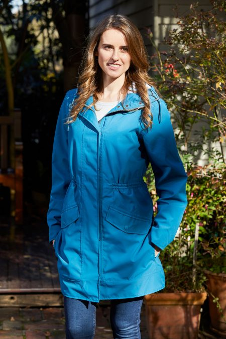 WOMENS HERA ANORAK ATLANTIC BLUE